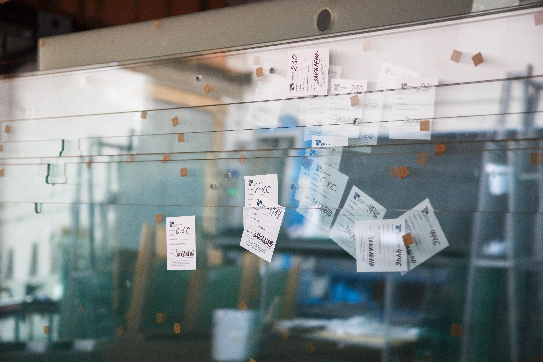 Давальческое стекло и изготовление шаблонов